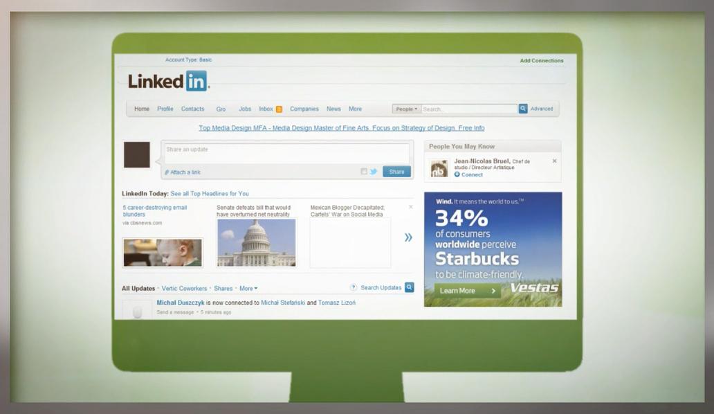 Vestas LinkedIn Campaign - Starbucks