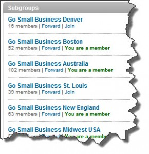 Join LinkedIn Subgroups