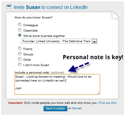More Productive Networking Using LinkedIn