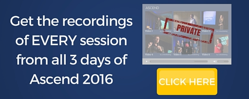 Get the recordings from EVERY session from all 3 days of Ascend