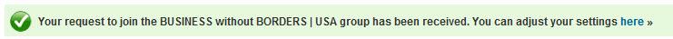 HSBC LinkedIn Group Promotion