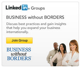 HSBC Business without Borders Sidebar Ad LinkedIn