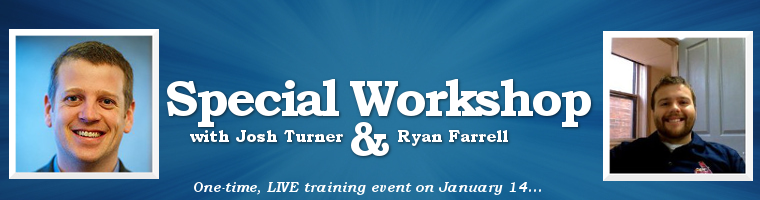 Selling High Price Services off of Webinars - Premium Workshop