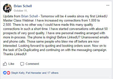 Phone Is Ringing From LinkedIn Leads